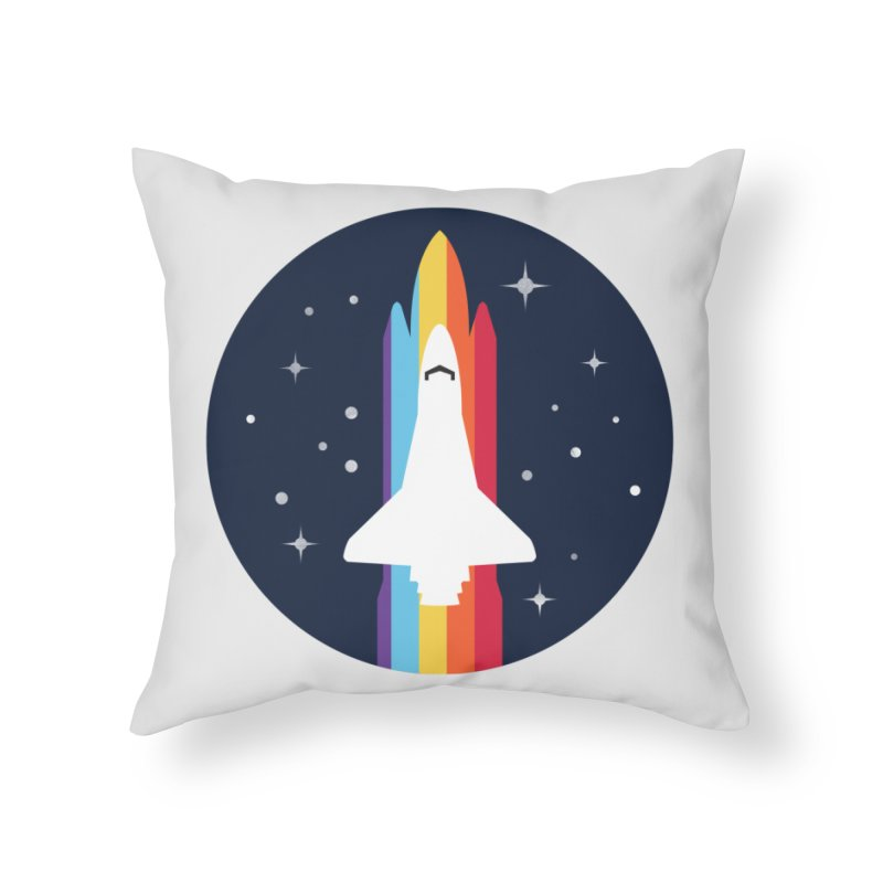 FRONTIER V2 Home Throw Pillow by alchemist's Artist Shop