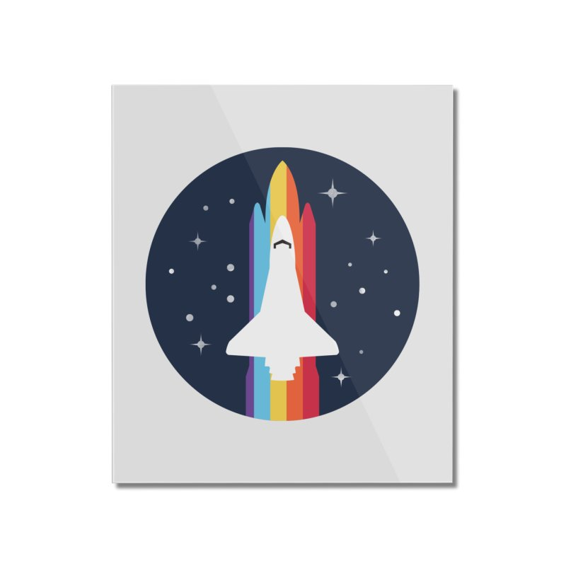 FRONTIER V2 Home Mounted Acrylic Print by alchemist's Artist Shop