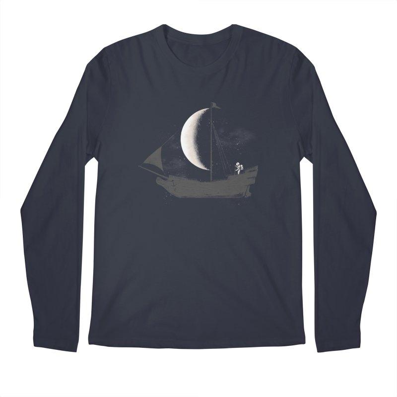 LUNAR VOYAGER Men's Longsleeve T-Shirt by alchemist's Artist Shop