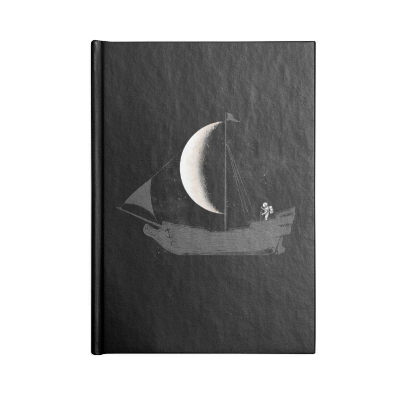 LUNAR VOYAGER Accessories Notebook by alchemist's Artist Shop