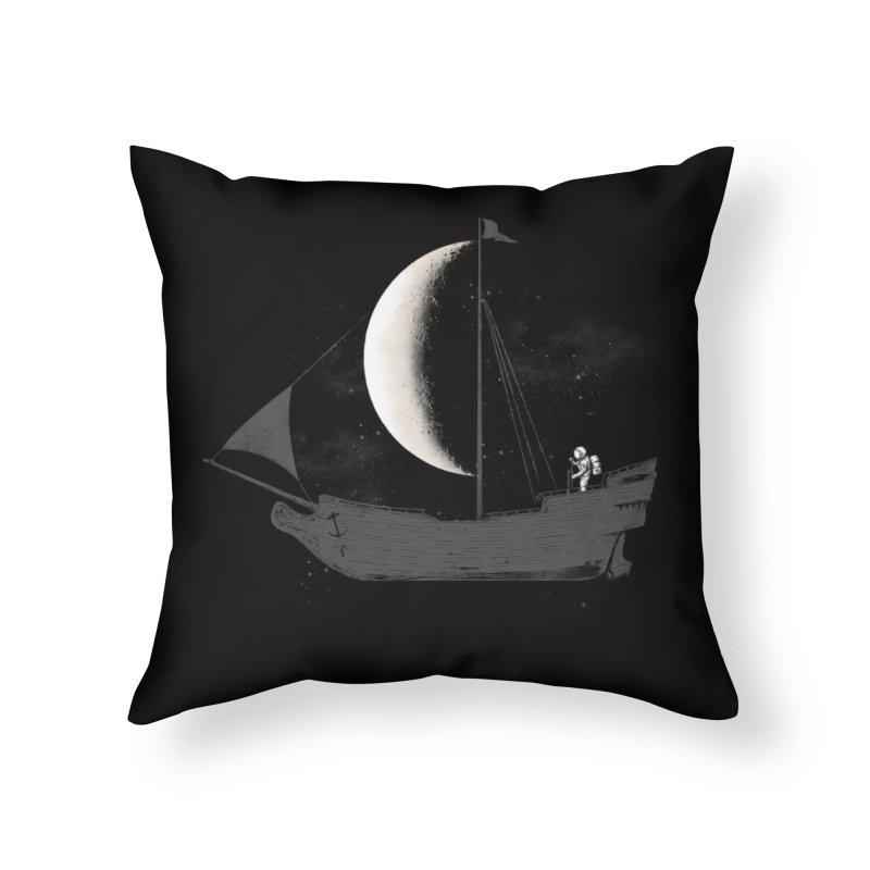 LUNAR VOYAGER Home Throw Pillow by alchemist's Artist Shop
