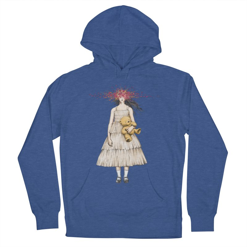 IN BLOOM Women's French Terry Pullover Hoody by alchemist's Artist Shop