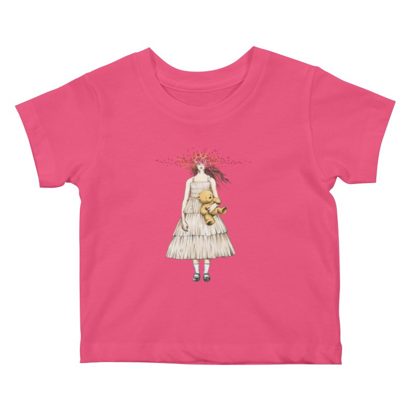 IN BLOOM Kids Baby T-Shirt by alchemist's Artist Shop