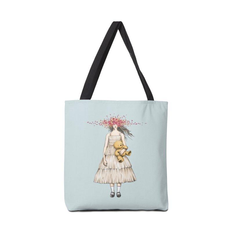 IN BLOOM Accessories Bag by alchemist's Artist Shop