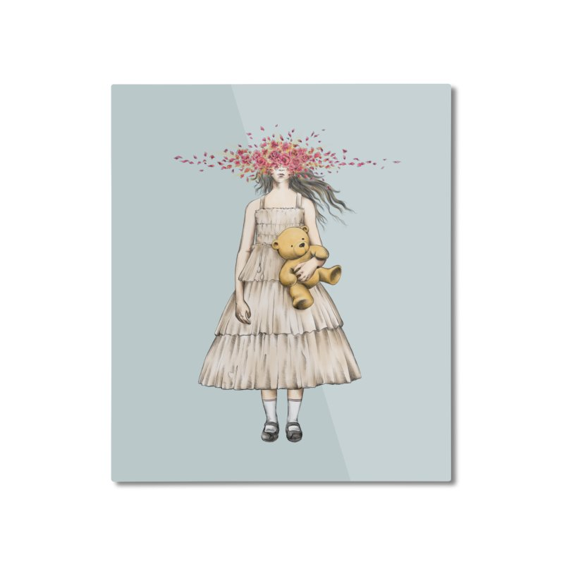 IN BLOOM Home Mounted Aluminum Print by alchemist's Artist Shop