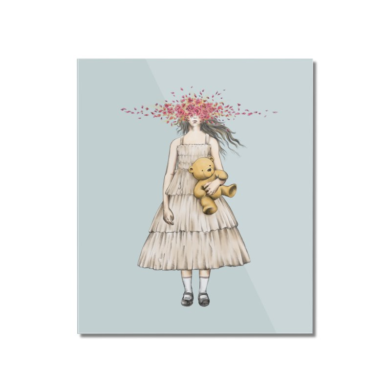 IN BLOOM Home Mounted Acrylic Print by alchemist's Artist Shop