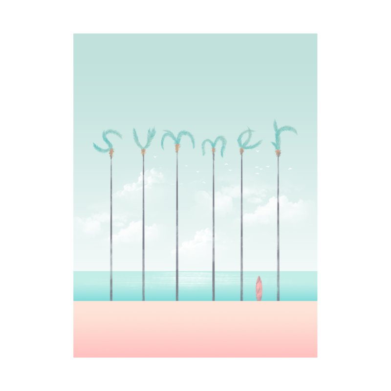 PALM SUMMER by alchemist's Artist Shop