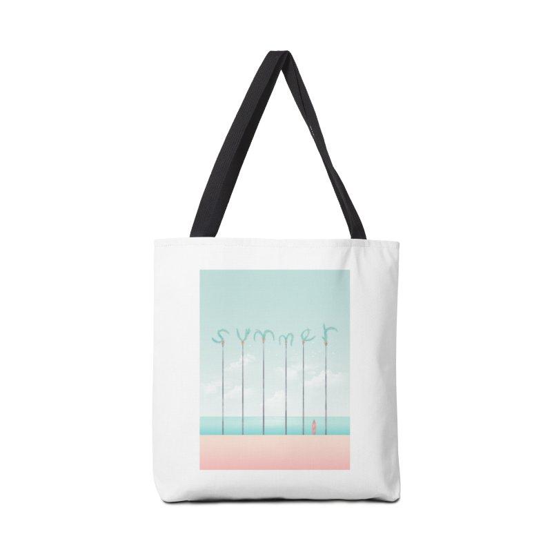 PALM SUMMER Accessories Bag by alchemist's Artist Shop