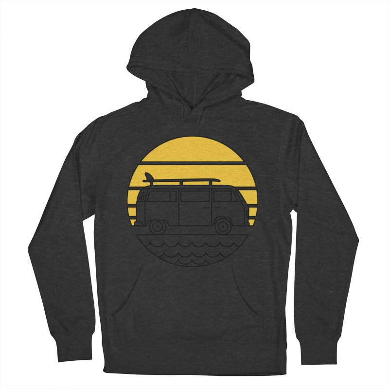 ROAD TRIP Women's French Terry Pullover Hoody by alchemist's Artist Shop