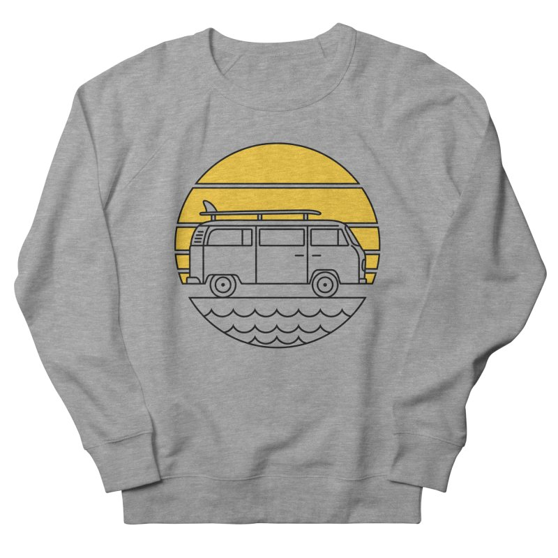 ROAD TRIP Women's French Terry Sweatshirt by alchemist's Artist Shop