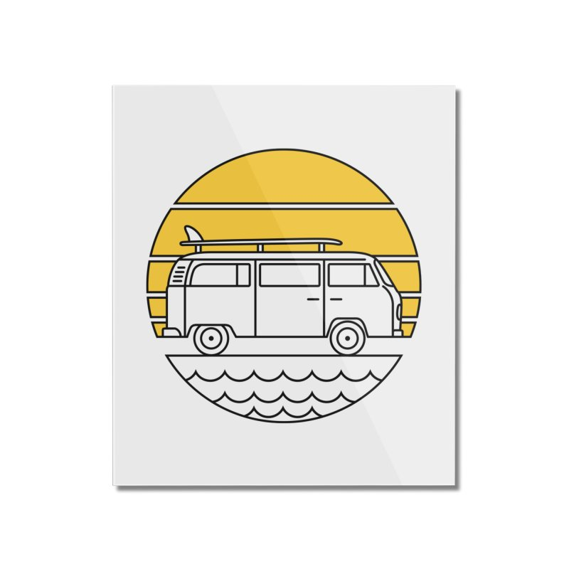 ROAD TRIP Home Mounted Acrylic Print by alchemist's Artist Shop