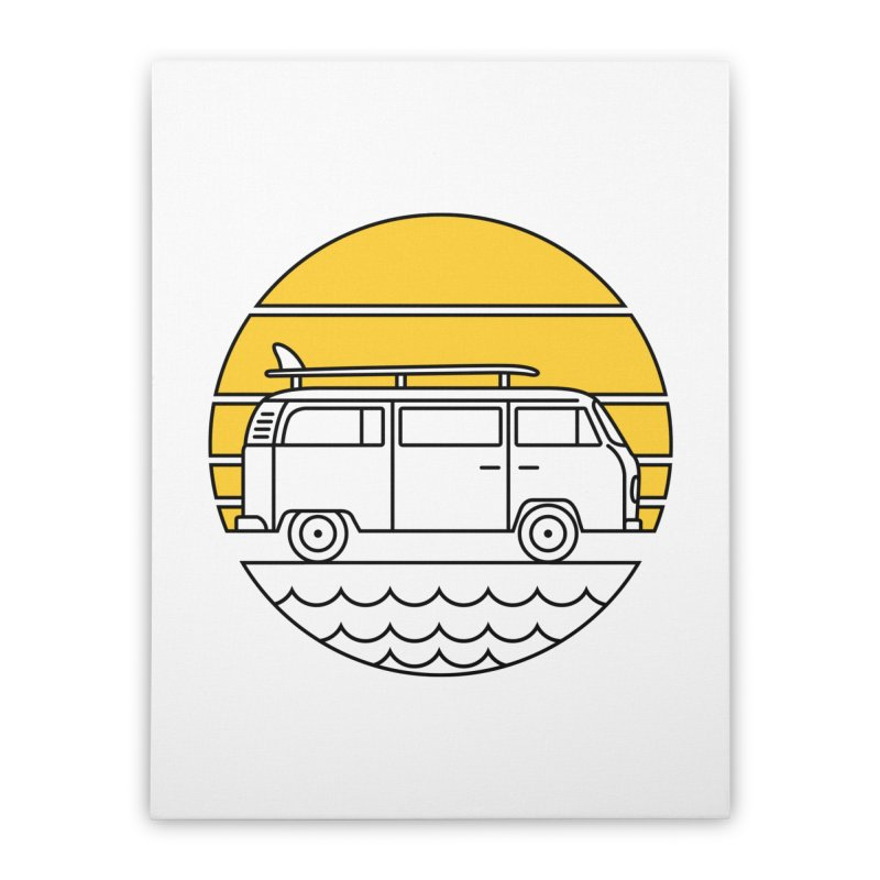 ROAD TRIP Home Stretched Canvas by alchemist's Artist Shop