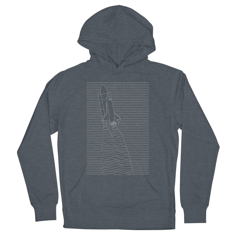LIFT OFF Women's French Terry Pullover Hoody by alchemist's Artist Shop
