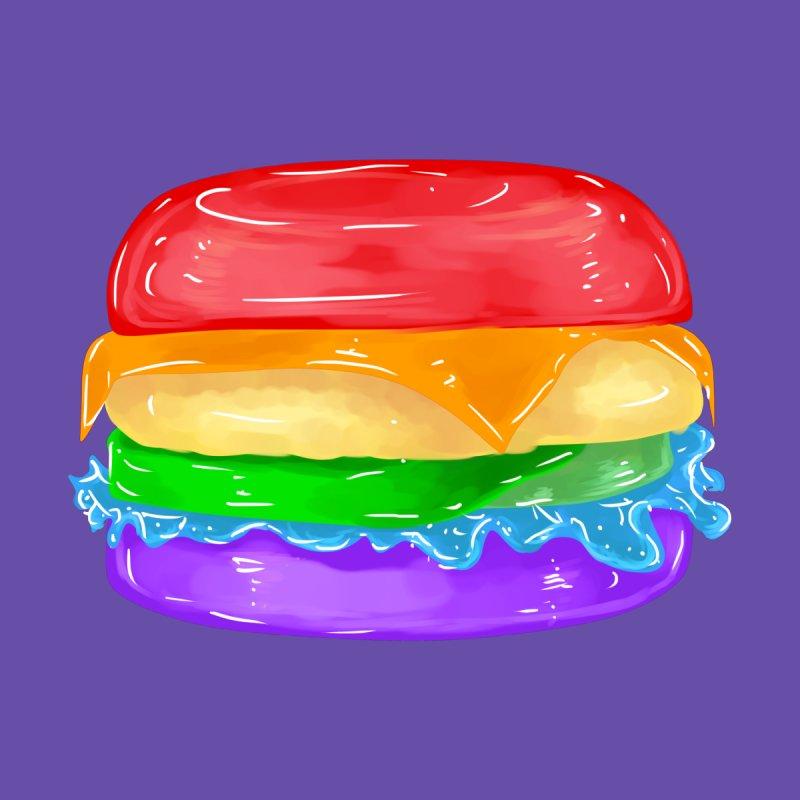 Gay Burger Men's T-Shirt by Aidadaism