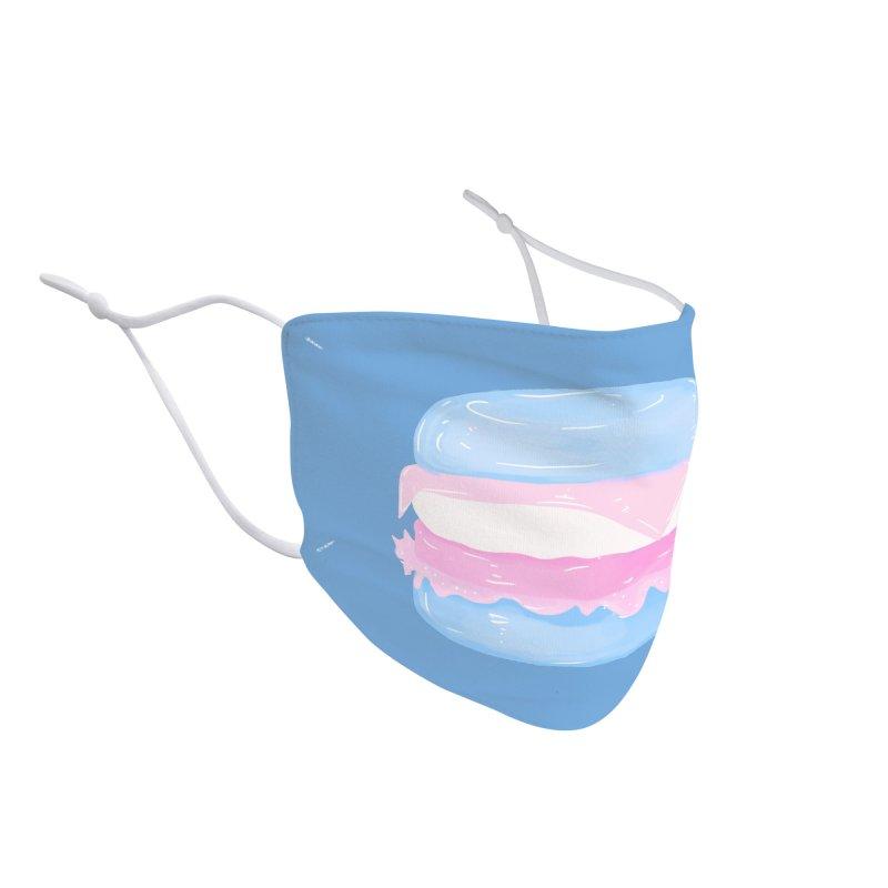 Transgender Burger Accessories Face Mask by Aidadaism