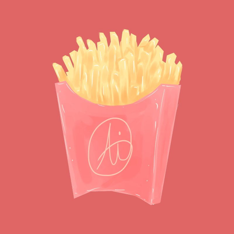 Fries Accessories Face Mask by Aidadaism