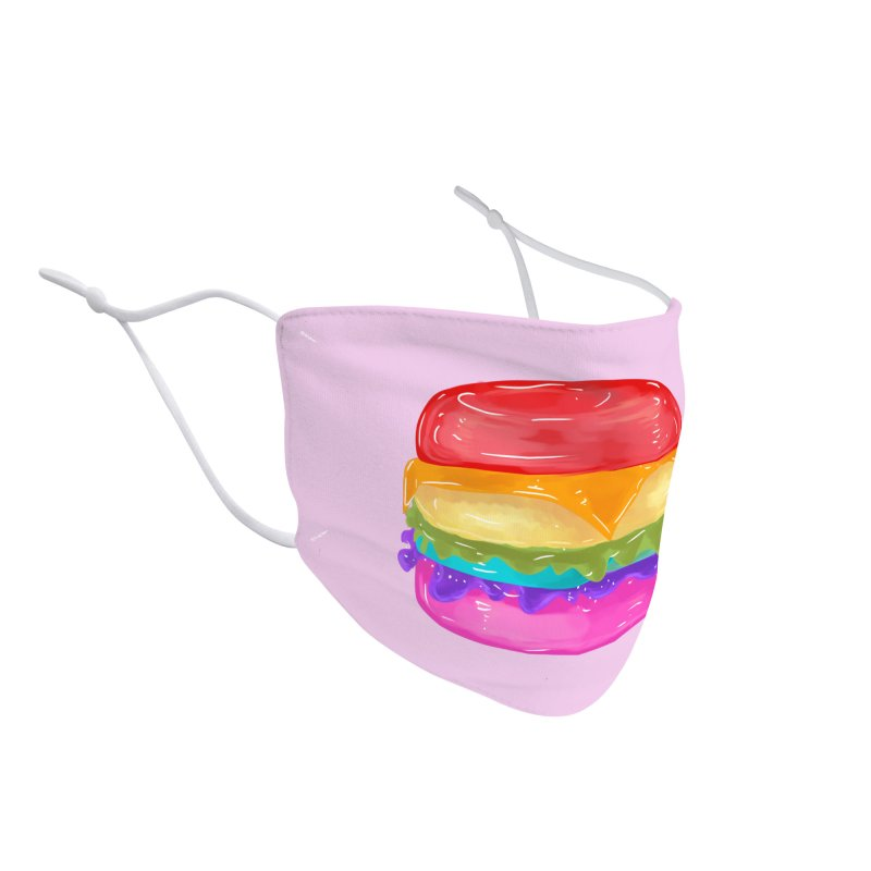 Rainbow Burger Accessories Face Mask by Alchemy Mellow