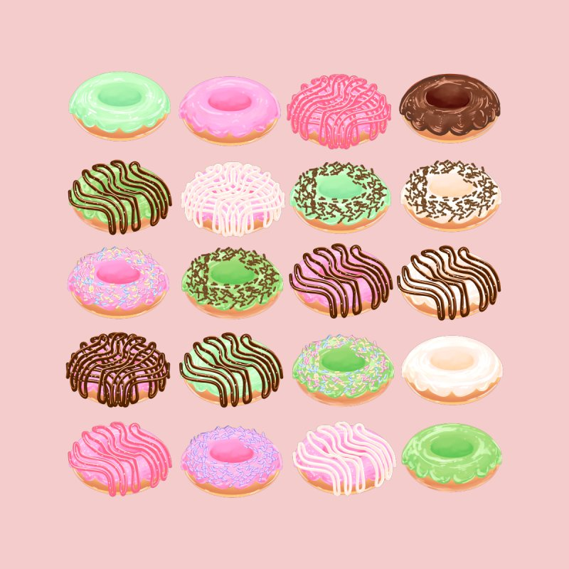 Mixed Donuts! Accessories Phone Case by Aidadaism