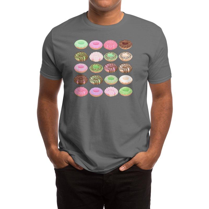 Mixed Donuts! Men's T-Shirt by Aidadaism