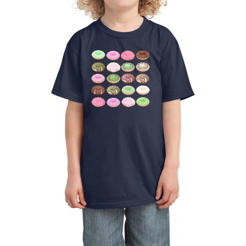 Mixed Donuts! Kids T-Shirt by Aidadaism