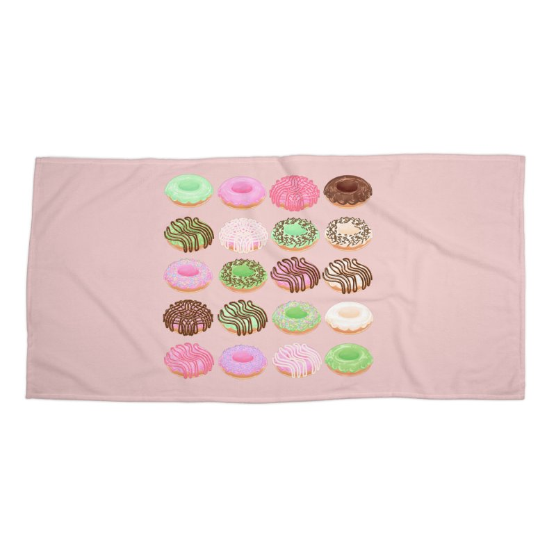 Mixed Donuts! Accessories Beach Towel by Aidadaism