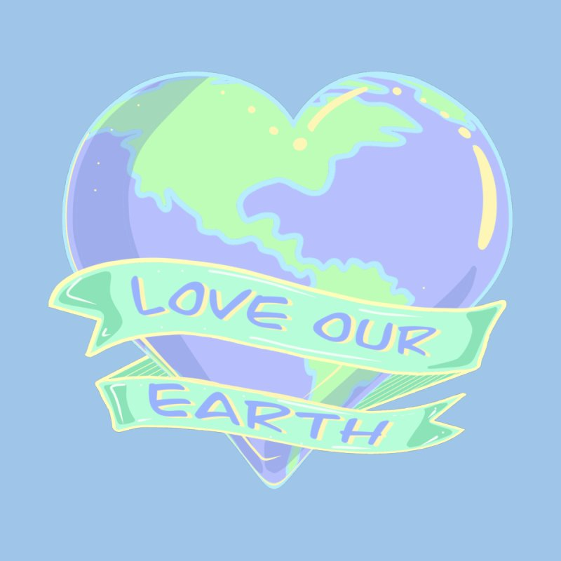 Love Our Earth Accessories Face Mask by Aidadaism