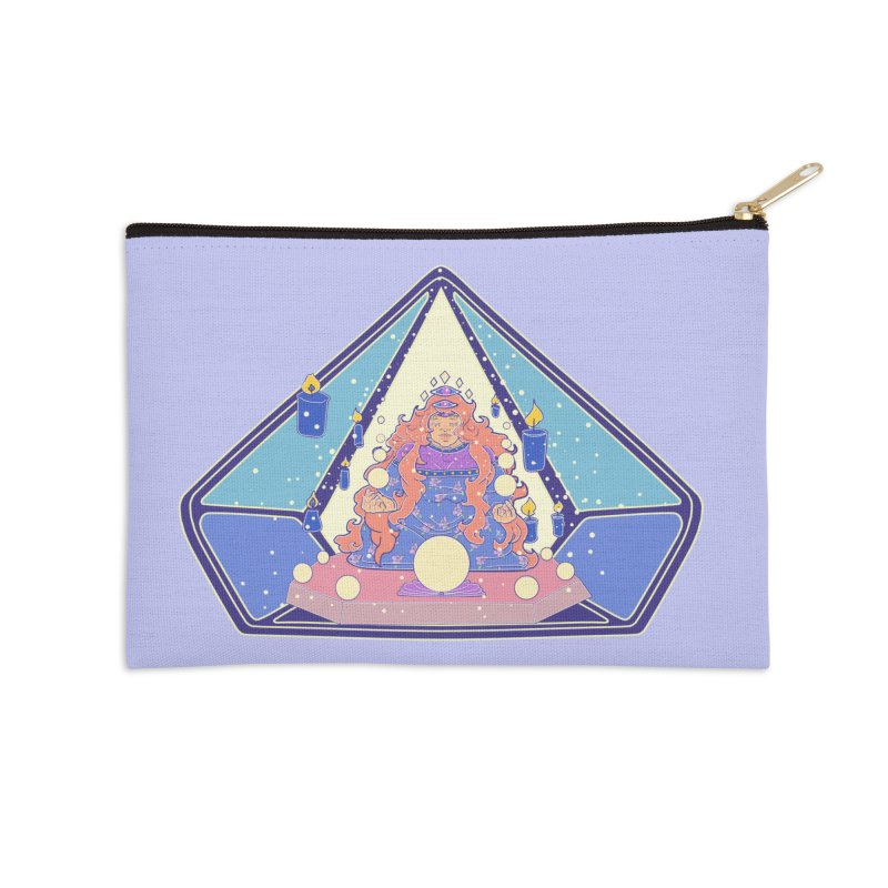Teek The Oracle Accessories Zip Pouch by Aidadaism