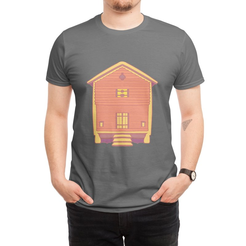 Cosy House Men's T-Shirt by Alchemy Mellow