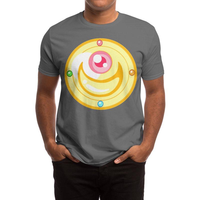 Pentacle Medalion Men's T-Shirt by Alchemy Mellow