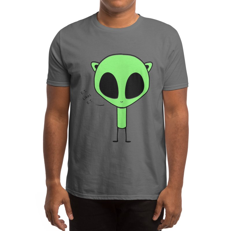 E.T. likes E.T. Men's T-Shirt by Alchemy Mellow
