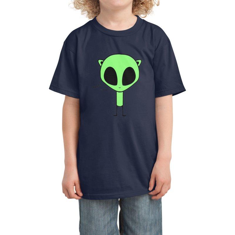 Yeet! Kids T-Shirt by Aidadaism
