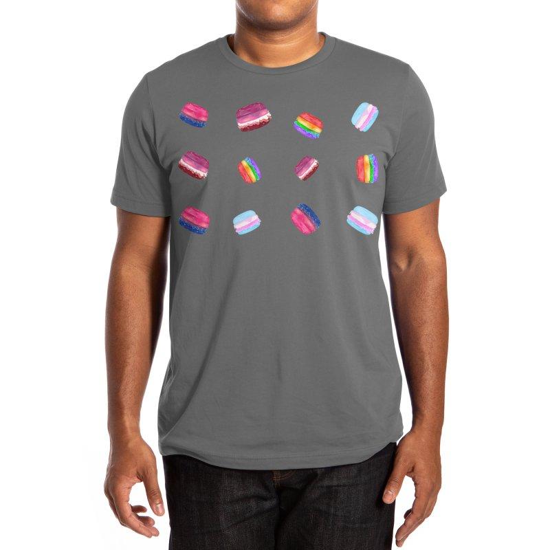 LGBT+ Burgers Men's T-Shirt by Aidadaism