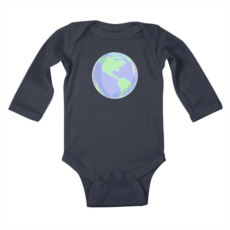 Earth Kids Baby Longsleeve Bodysuit by Aidadaism