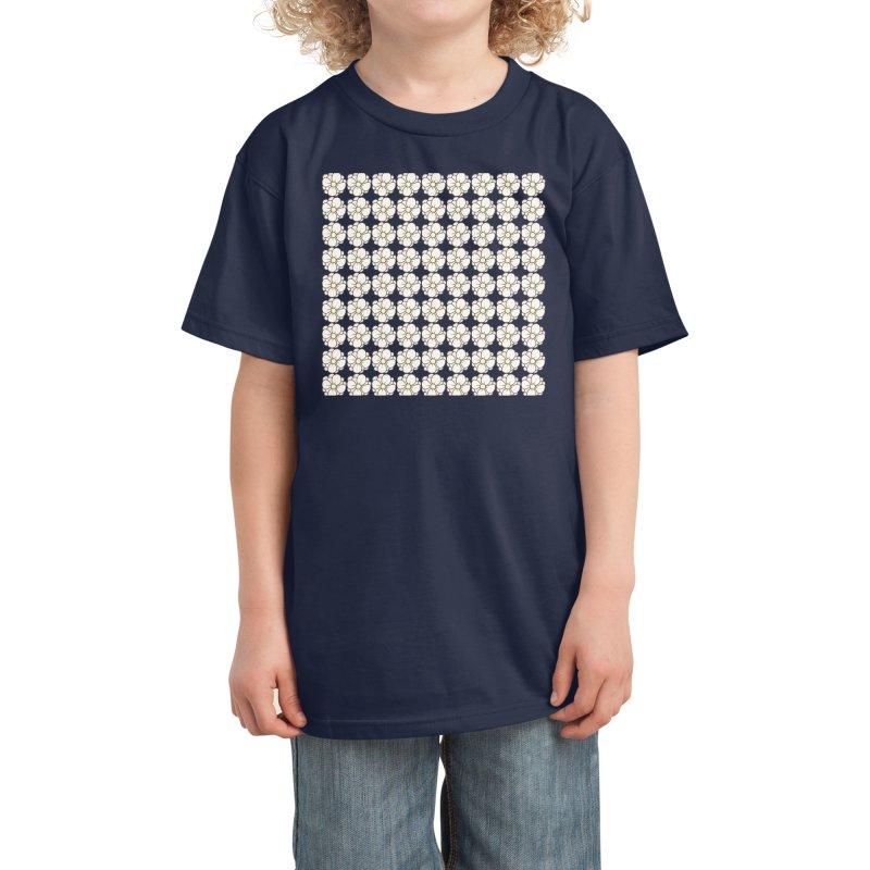 Daisies Kids T-Shirt by Aidadaism