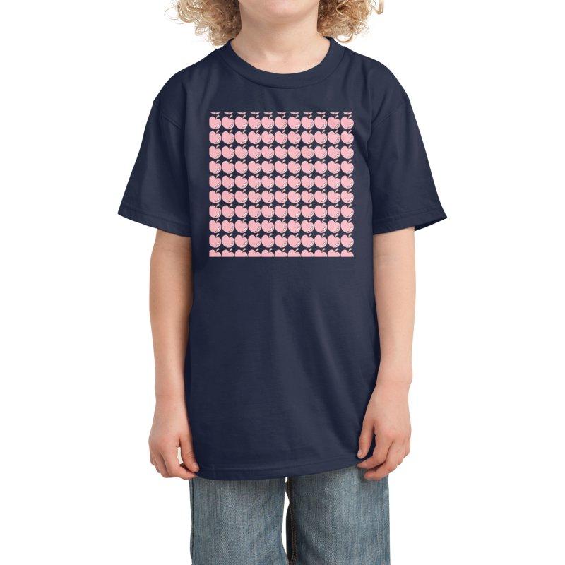 Apples Kids T-Shirt by Aidadaism
