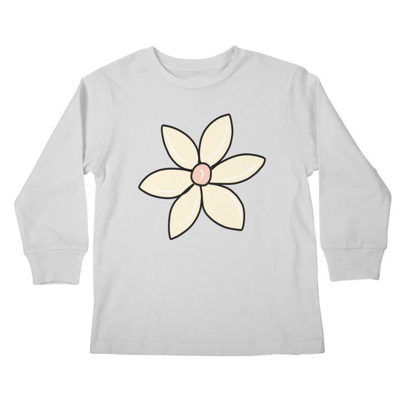 Daisy Kids Longsleeve T-Shirt by Aidadaism