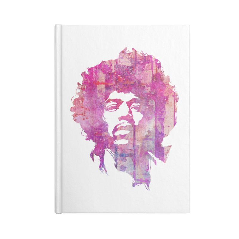 Grunge Hendrix Accessories Notebook by Ale Borges