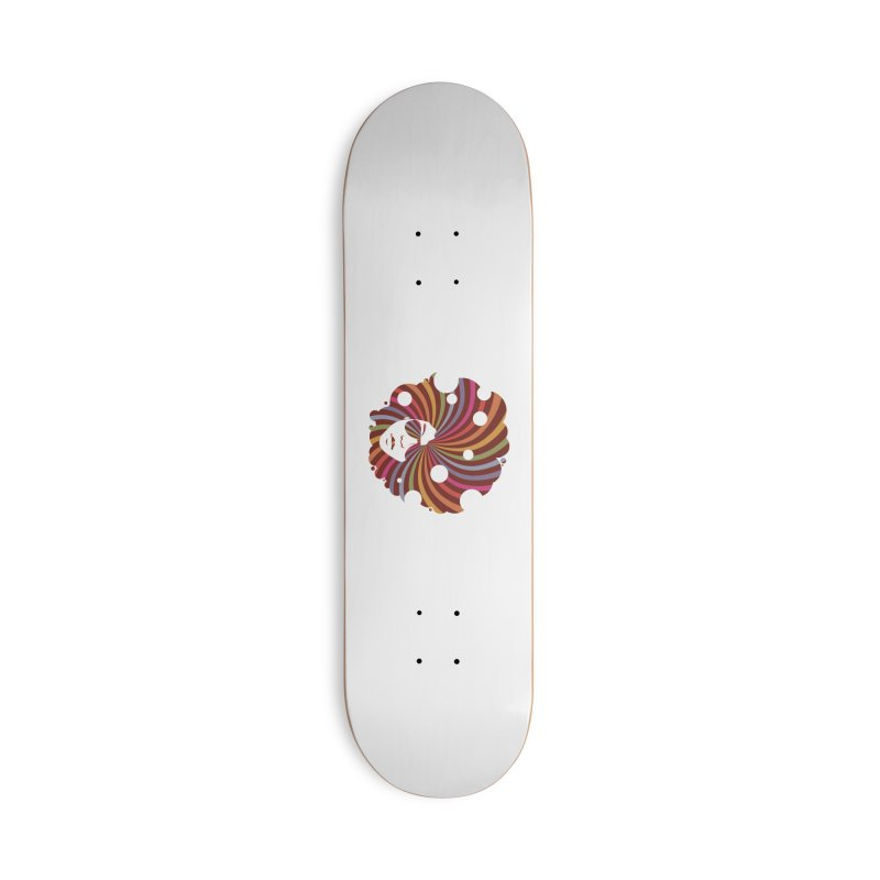 Black Soul Funky Accessories Skateboard by Ale Borges
