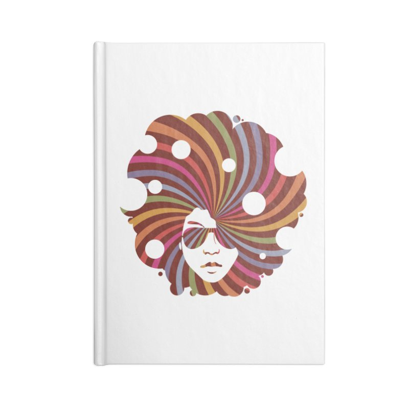 Black Soul Funky Accessories Notebook by Ale Borges