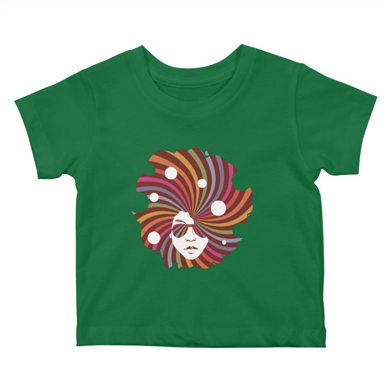 Black Soul Funky Kids Baby T-Shirt by Ale Borges
