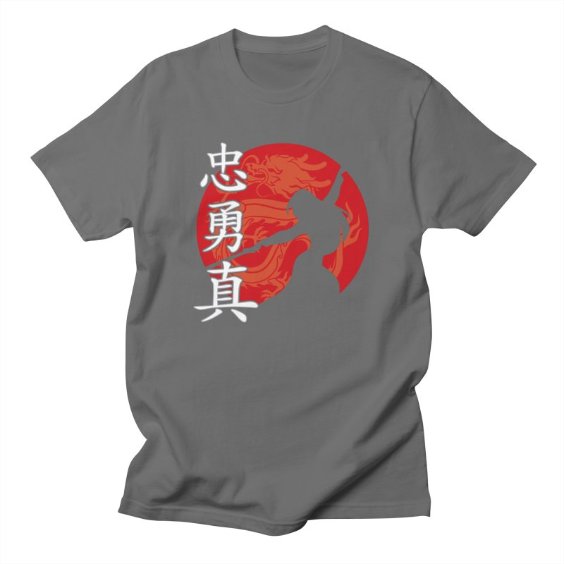 Chinese Warrior Feminine T-Shirt by Ale Borges
