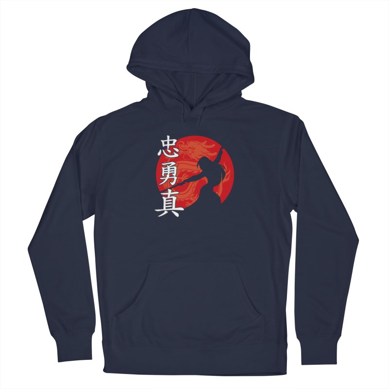 Chinese Warrior All Gender Pullover Hoody by Ale Borges