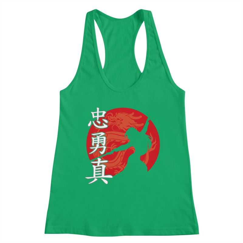 Chinese Warrior Feminine Tank by Ale Borges