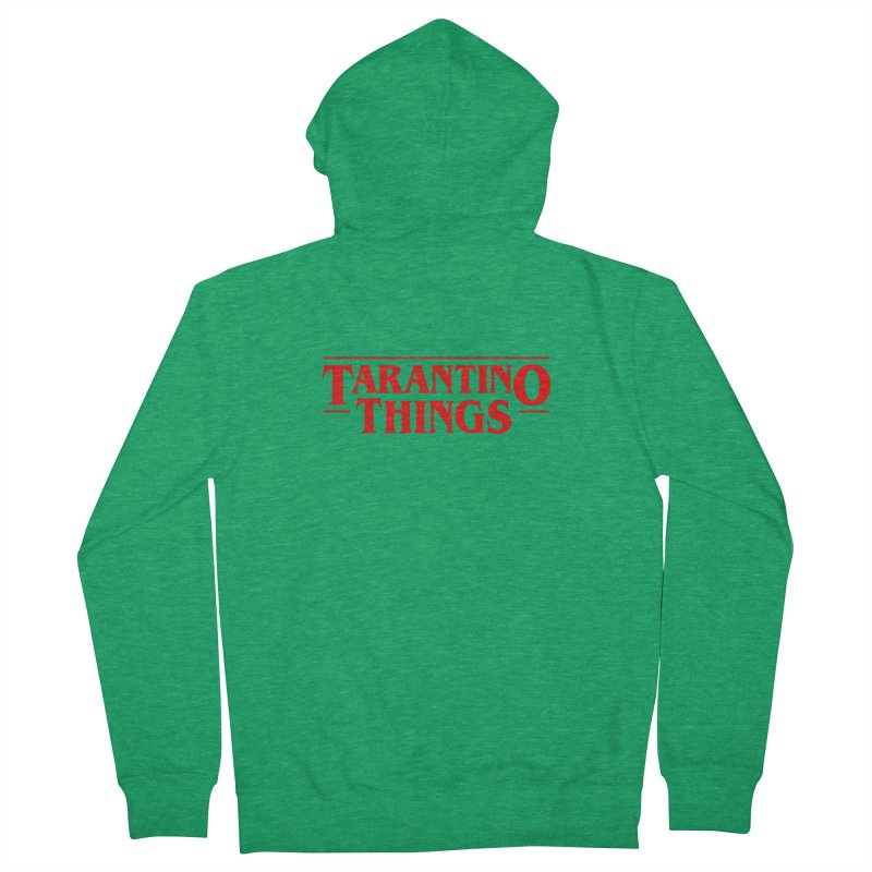 Tarantino Things All Gender Zip-Up Hoody by Ale Borges