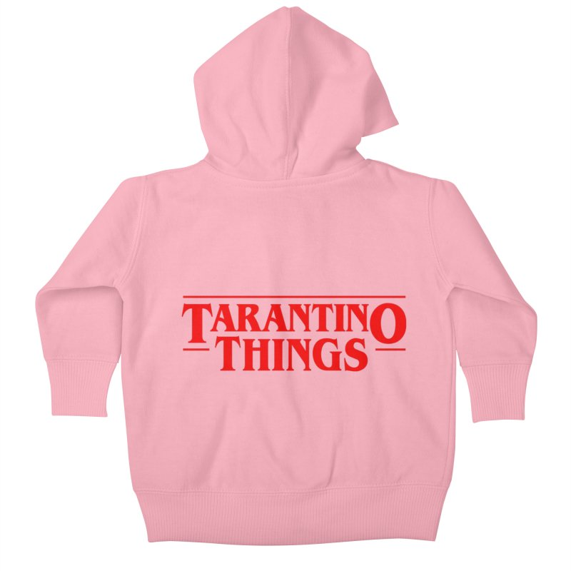 Tarantino Things Kids Baby Zip-Up Hoody by Ale Borges