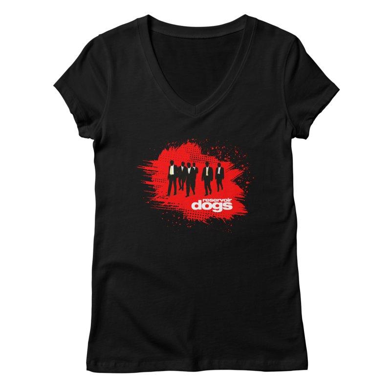 Reservoir Dogs Feminine V-Neck by Ale Borges
