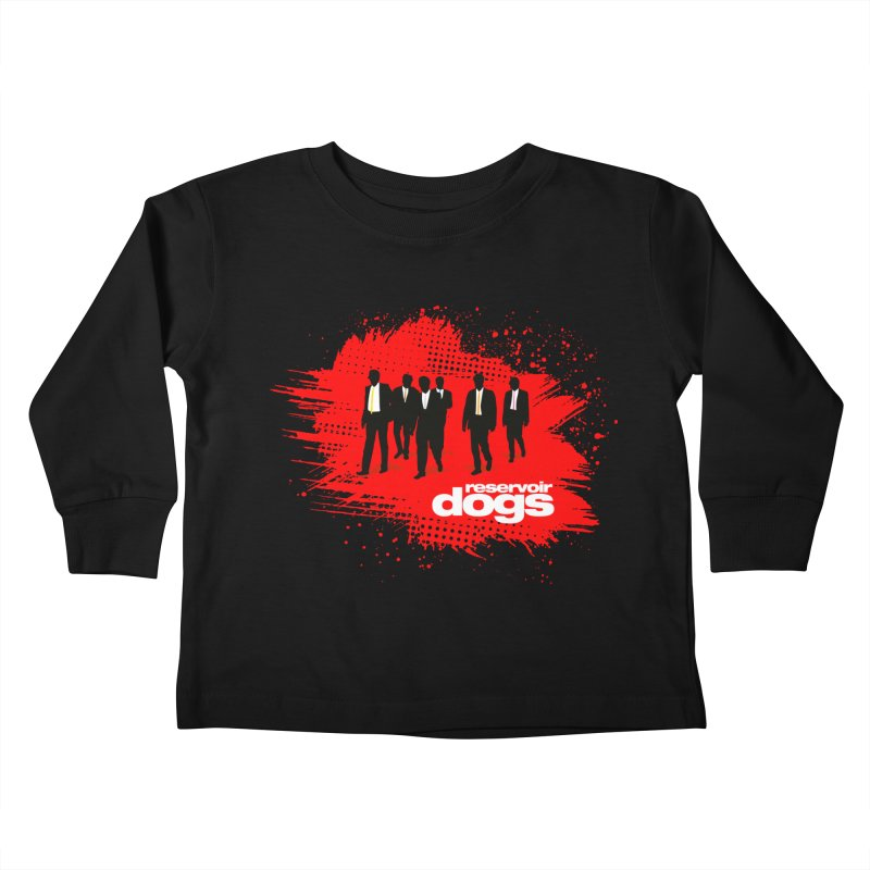 Reservoir Dogs Kids Toddler Longsleeve T-Shirt by Ale Borges