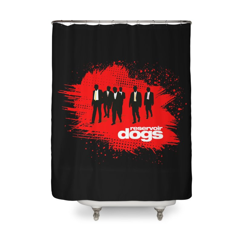 Reservoir Dogs Home Shower Curtain by Ale Borges
