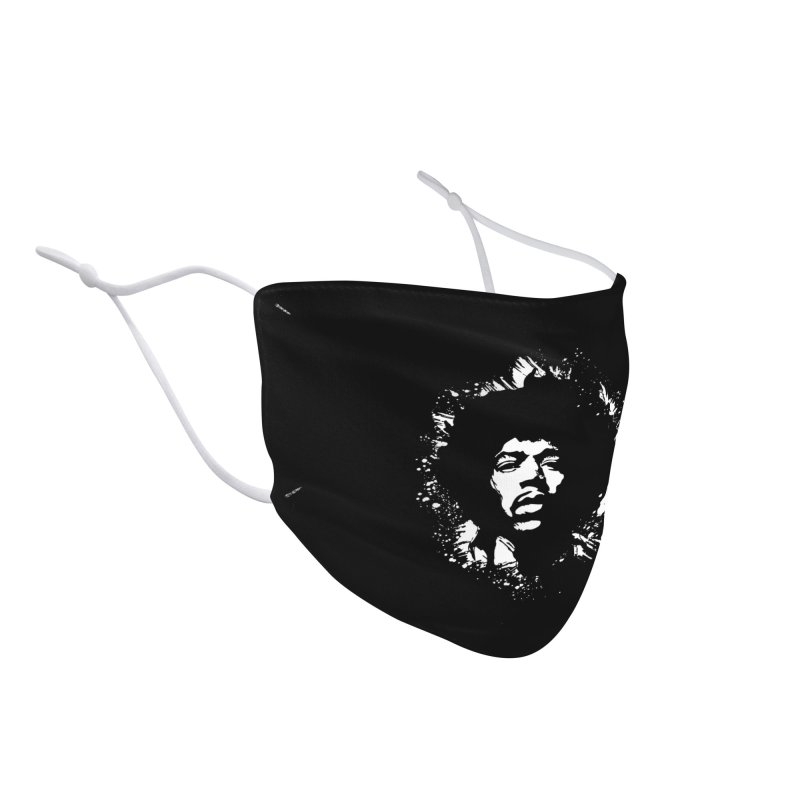Grunge Hendrix II Accessories Face Mask by Ale Borges