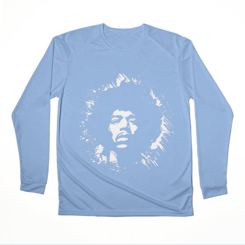 Grunge Hendrix II All Gender Longsleeve T-Shirt by Ale Borges